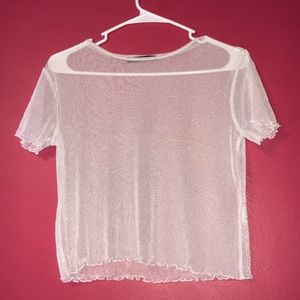 Brandy Melville Sheer Top